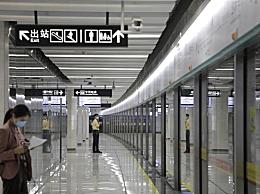 广州地铁8号线北延段今日开通