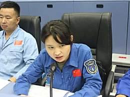 1996年出生的姑娘指挥火箭发射