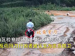 广东茂名4人打伤持刀行凶者被刑拘