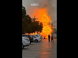 无锡燃气管道被挖爆引大火致1死2伤