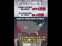 美国已有5个州发现变异病毒