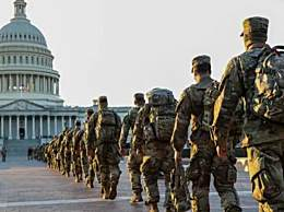 美国防部向华盛顿增兵2.5万