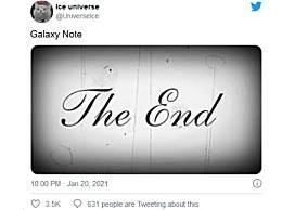 曝三星Note系列已经停产