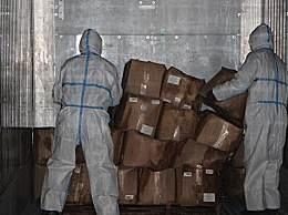 浙江温岭将38吨冻对虾退回厄瓜多尔