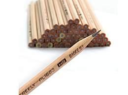 """铅笔上经常标有字母""""H""""或""""B"""",其中""""H""""表示什么"""