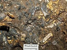三星堆遗址发现绝美黄金面具