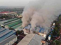 外媒:缅甸又有中资企业被烧