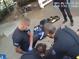 美警察跪压男子5分钟后死亡