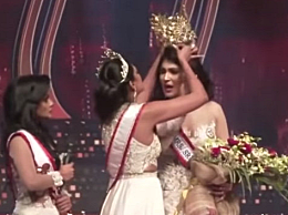 斯里兰卡选美皇后皇冠遭前冠军抢夺