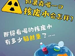 如果真喝一口核废水会怎样