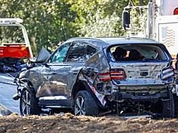 伍兹车祸因严重超速