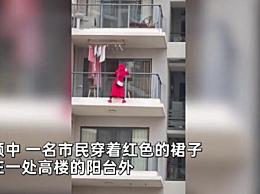 红衣女子三亚坠亡一层楼人都搬走