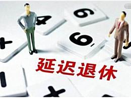 延迟退休年龄从什么时间正式实行