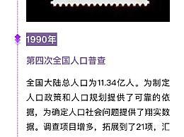 人口普查历史上的多个首次