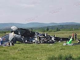 一飞机在俄坠毁致7死13伤