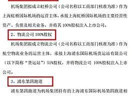 上海机场筹划重大资产重组