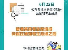 四川高考6月23日公布成绩