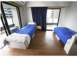东京奥运村开村:硬纸板搭床