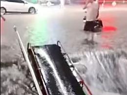 安徽暴雨超市用米面自救损失400万