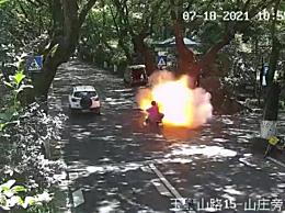 杭州爆燃电动车涉事车品牌型号公布